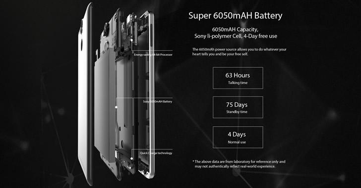 Ulefone Power battery
