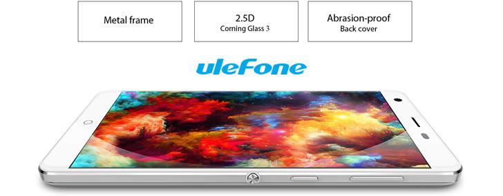 Ulefone Power metal frame