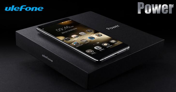 Ulefone Power - елегантен 5.5-инчов смартфон с 6050 mAh батерия и много функции