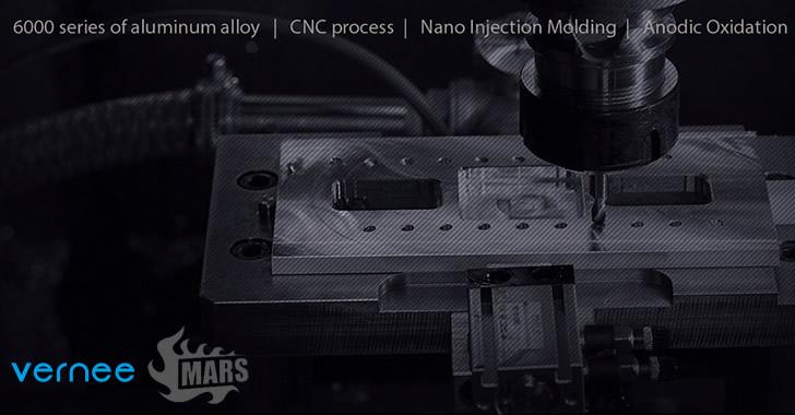 Vernee Mars CNC process