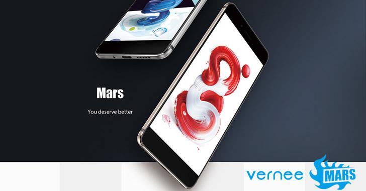 Vernee Mars design