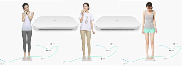 XiaoMi Bluetooth V4.0 Mi Smart Weight Scale