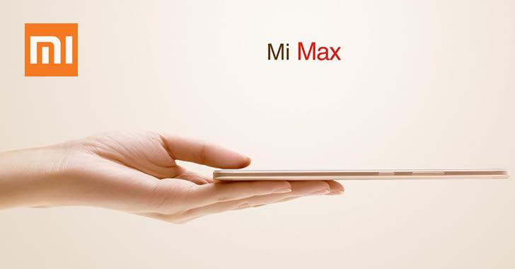 Xiaomi Mi Max thin
