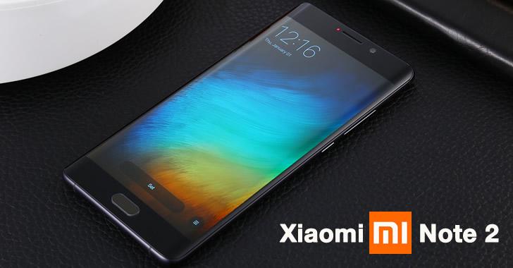 Xiaomi Mi Note 2 front