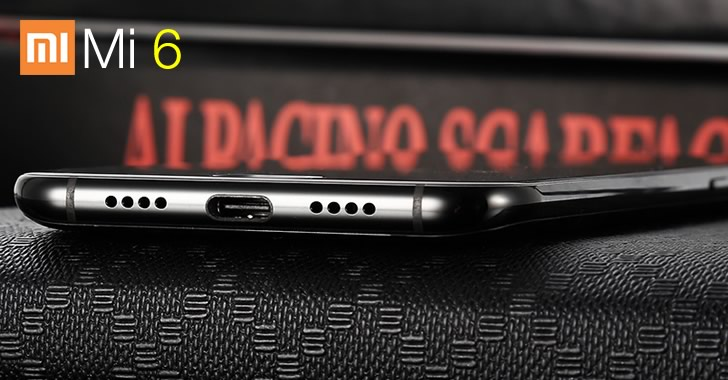 Xiaomi Mi6 USB Type C