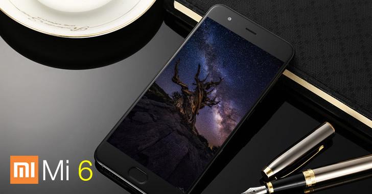 Xiaomi Mi6 front