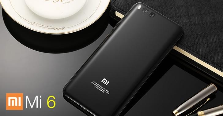 Xiaomi Mi6 black