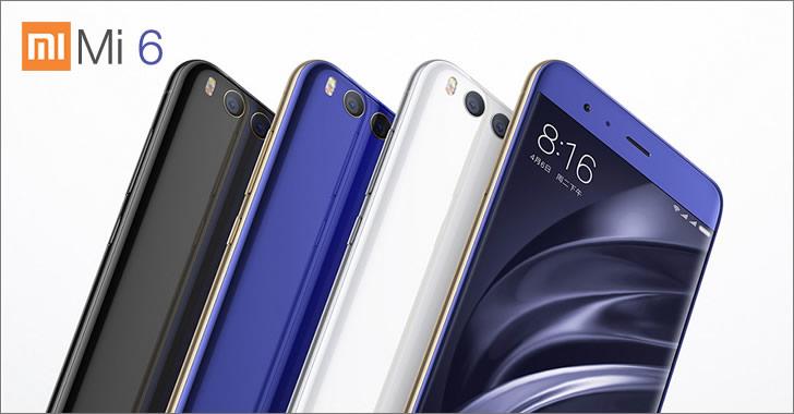 Xiaomi Mi6 colors