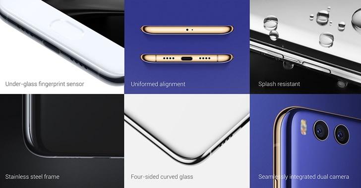 Xiaomi Mi6 details