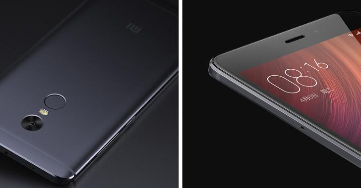 Xiaomi RedMi Note 4 details