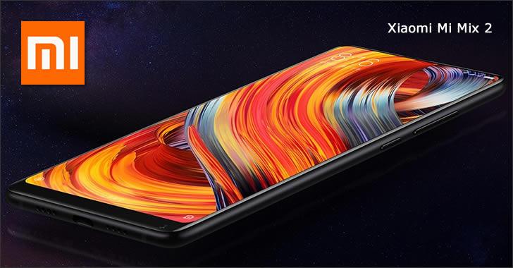 Xiaomi Mi Mix 2 front