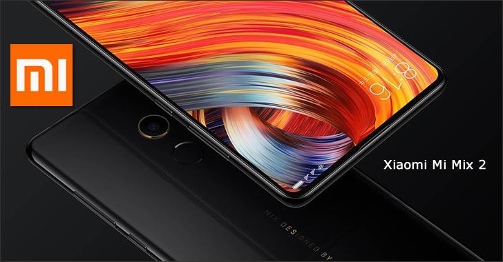 Xiaomi Mi Mix 2 - новият безрамков топ смартфон