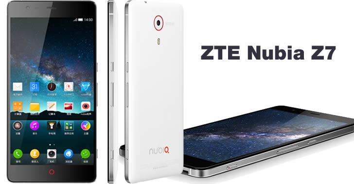 ZTE Nubia Z7 - поглед отстрани