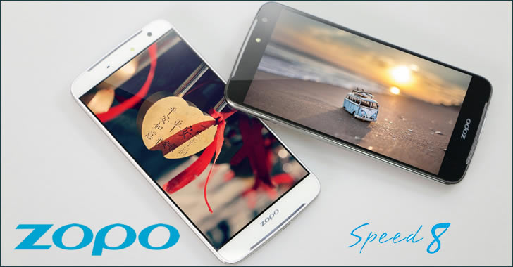Zopo Speed 8 Display