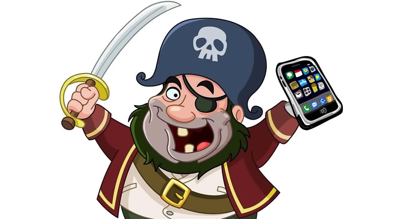 Смартфони за пирати - кой смартфон плува най-добре?