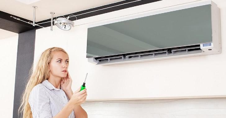 Причини за изтичане на фреон от климатизатора